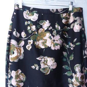 J Crew Collection wool/silk pencil skirt sz 8
